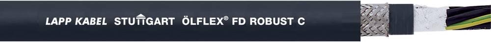Energijski kabel ÖLFLEX® ROBUST FD C 4 G 6 mm črne barve LappKabel 0026751 50 m