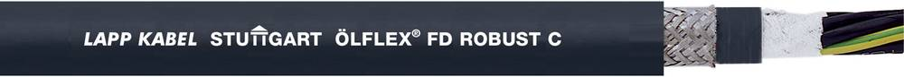 Energijski kabel ÖLFLEX® ROBUST FD C 25 G 0.75 mm črne barve LappKabel 0026707 50 m