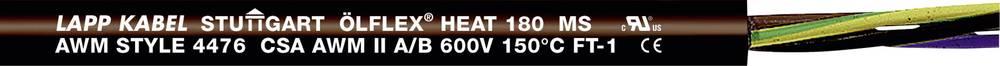 Visokotemperaturni vodnik ÖLFLEX® HEAT 180 MS 4 G 4 mm črne barve LappKabel 00466343 100 m