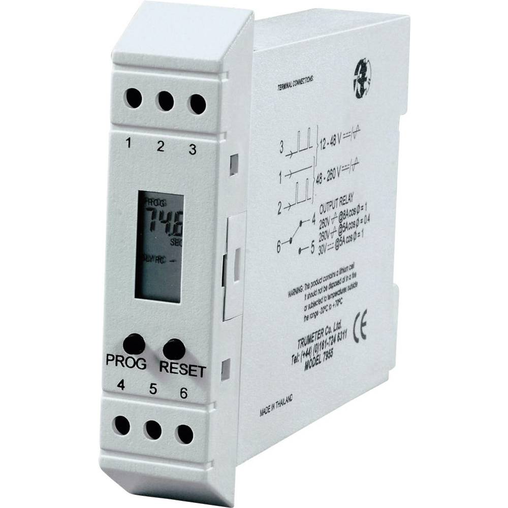 Trumeter 7956 Time Delay Relay Timer From And Circuit Breaker