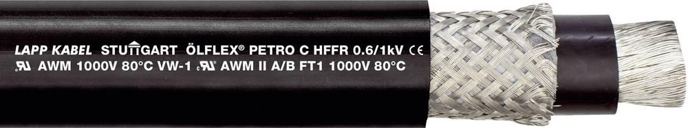 Krmilni kabel ÖLFLEX® PETRO C HFFR 3 G 1.5 mm črne barve LappKabel 0023253 100 m
