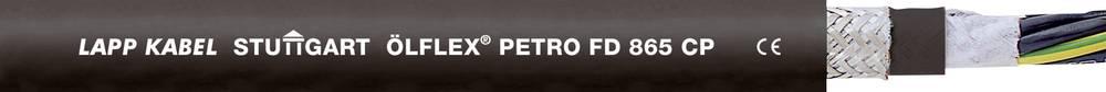 Energijski kabel ÖLFLEX® PETRO FD 865 CP 3 G 0.75 mm črne barve LappKabel 0023312 100 m