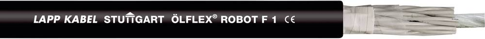 Energijski kabel ÖLFLEX® ROBOT F1 3 G 1 mm črne barve LappKabel 0029611 50 m