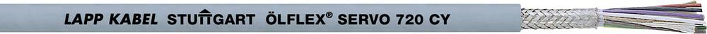 Kabel za krmiljenje servo motorjev ÖLFLEX® SERVO 720 CY 8 x 0.14 mm + 4 x 0.5 mm sive barve LappKabel 0036181 50 m