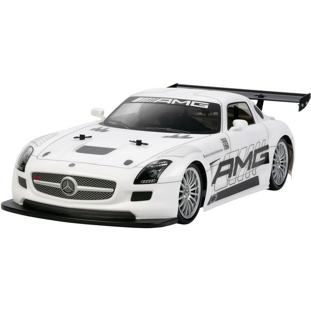 Auto na daljinsko upravljanje električni Ulični model Tamiya Mercedes Benz SLS GT3 AMG Brushed 1:10 4WD na slaganje