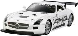 RC-modelbil 1:10 Tamiya Mercedes Benz SLS GT3 AMG Brushed Elektronik Vejmodel 4WD Byggesæt