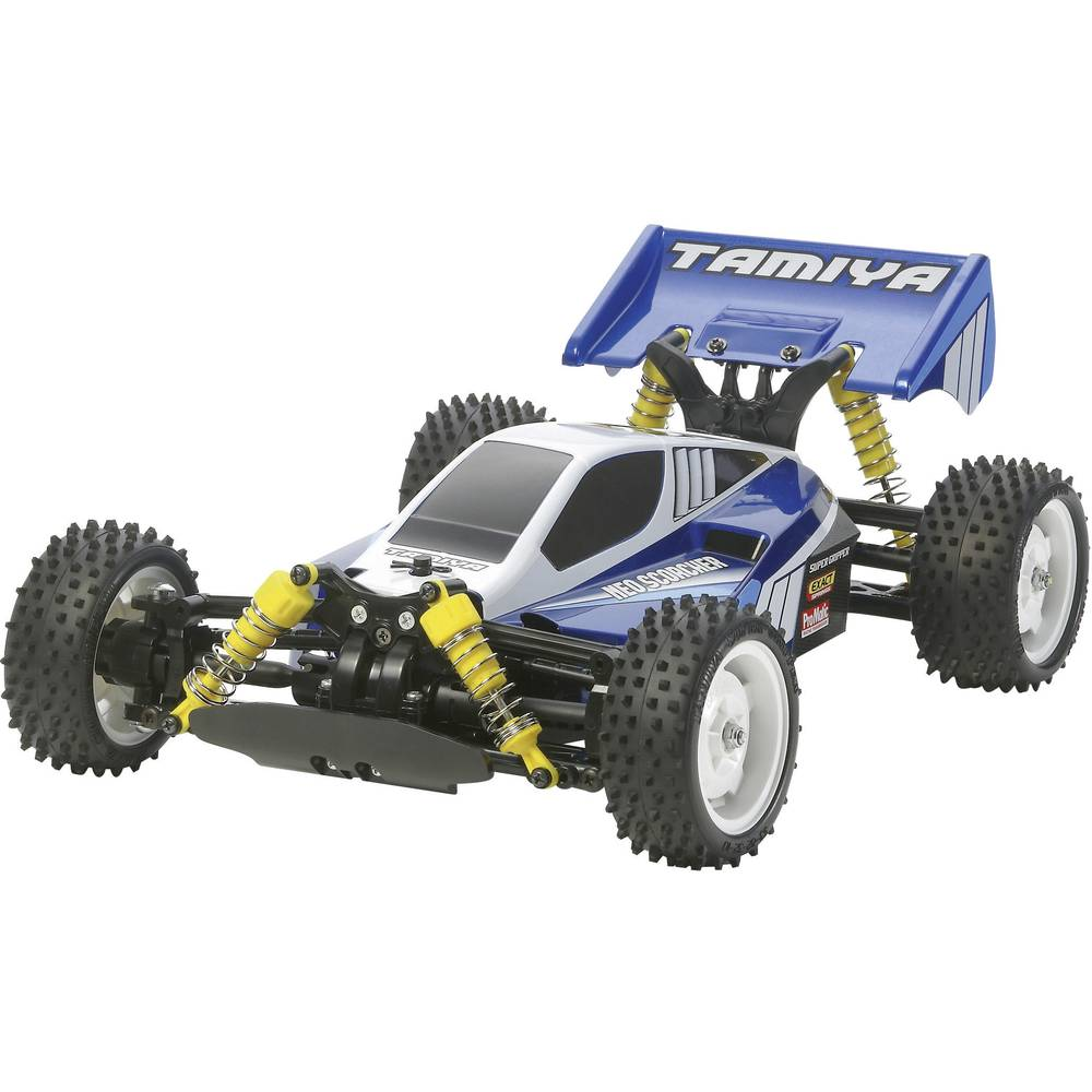 Auto na daljinsko upravljanje električni Buggy Tamiya Neo Scorcher Brushed 1:10 4WD na slaganje