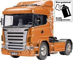 eccfe22634 1:14 RC truck Scania R470 4x2 orange metallic kit