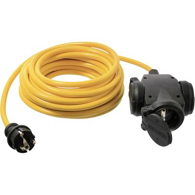 Image of as - Schwabe 61453 Current Cable extension Yellow 10.00 m