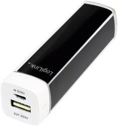 Powerbank LogiLink Mobile-Power 2200 Litium 2200 mAh Sort