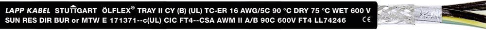 Krmilni kabel ÖLFLEX® TRAY II CY 5 G 1 mm črne barve LappKabel 2218050 152 m