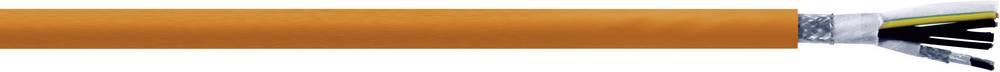 Kabel za krmiljenje servo motorjev 4 G 1.5 mm + 4 x 0.75 mm oranžne barve LappKabel 7072404 50 m