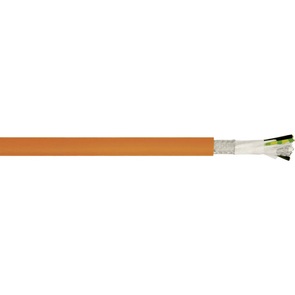 Kabel za krmiljenje motorjev LENZE Standard 4 G 1 mm + 2 x 0.5 mm oranžne barve LappKabel 7072509 50 m