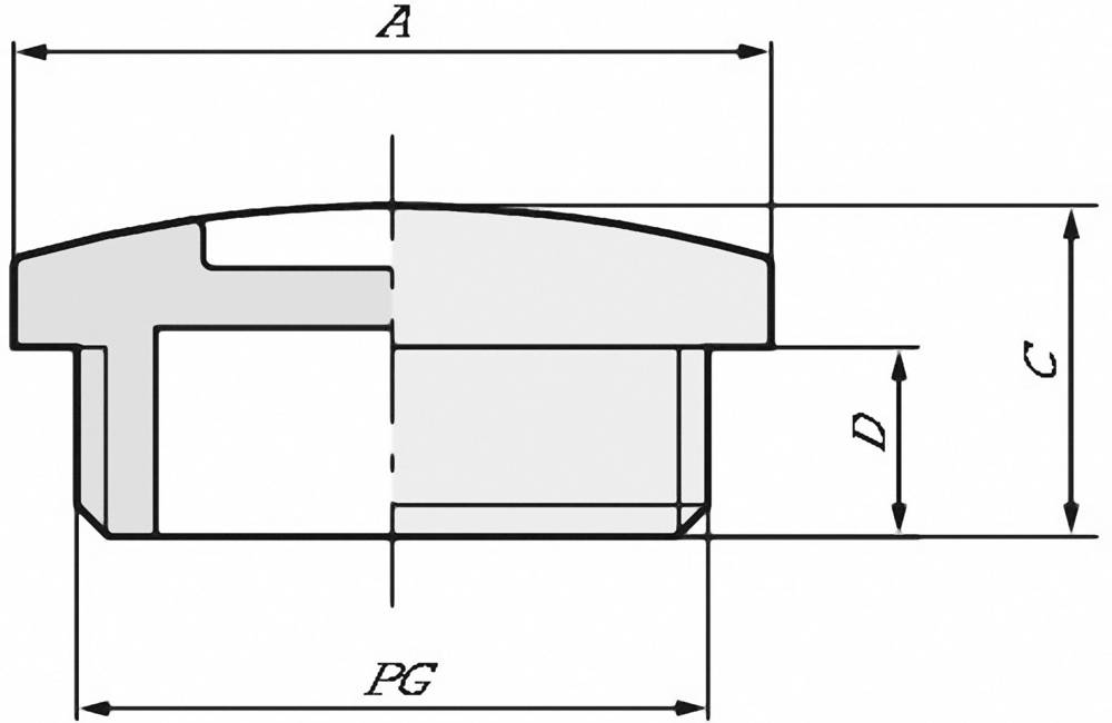 Zaklepni vijak z O-obročem PG36, medenina naravne barve LappKabel SKINDICHT BL PG 36 +0-RING 25 kos