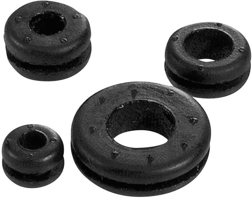 Kabelska uvodnica premer sponke (maks.) 5 mm kloropren-kavčuk črne barve LappKabel SKINDICHT LA 5 100 kos