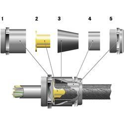 Kabelforskruning LappKabel SKINDICHT® SHVE-M 25X1,5/21/20/16 M25 Messing Messing 25 stk