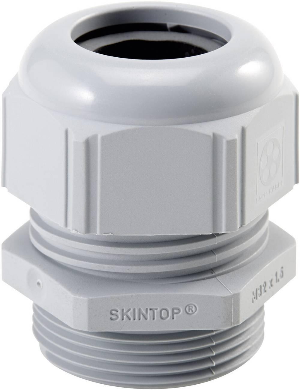Kabelforskruning LappKabel SKINTOP® BS 3/4'' 3/4 Polyamid Sølvgrå (RAL 7001) 25 stk