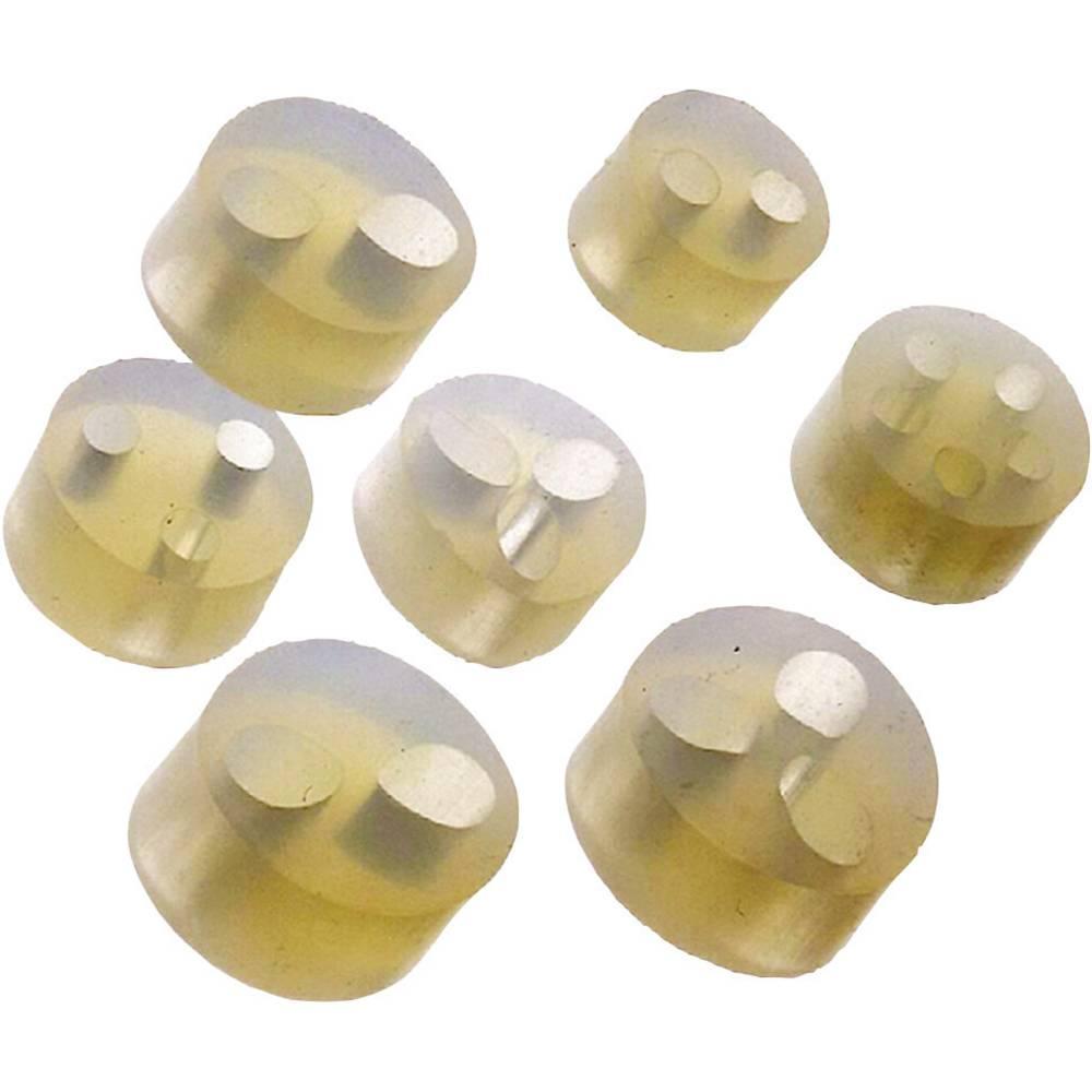 Tesnilni vložek za več kablov PG16 silikon naravne barve LappKabel SKINTOP DIX 16260 50 kos