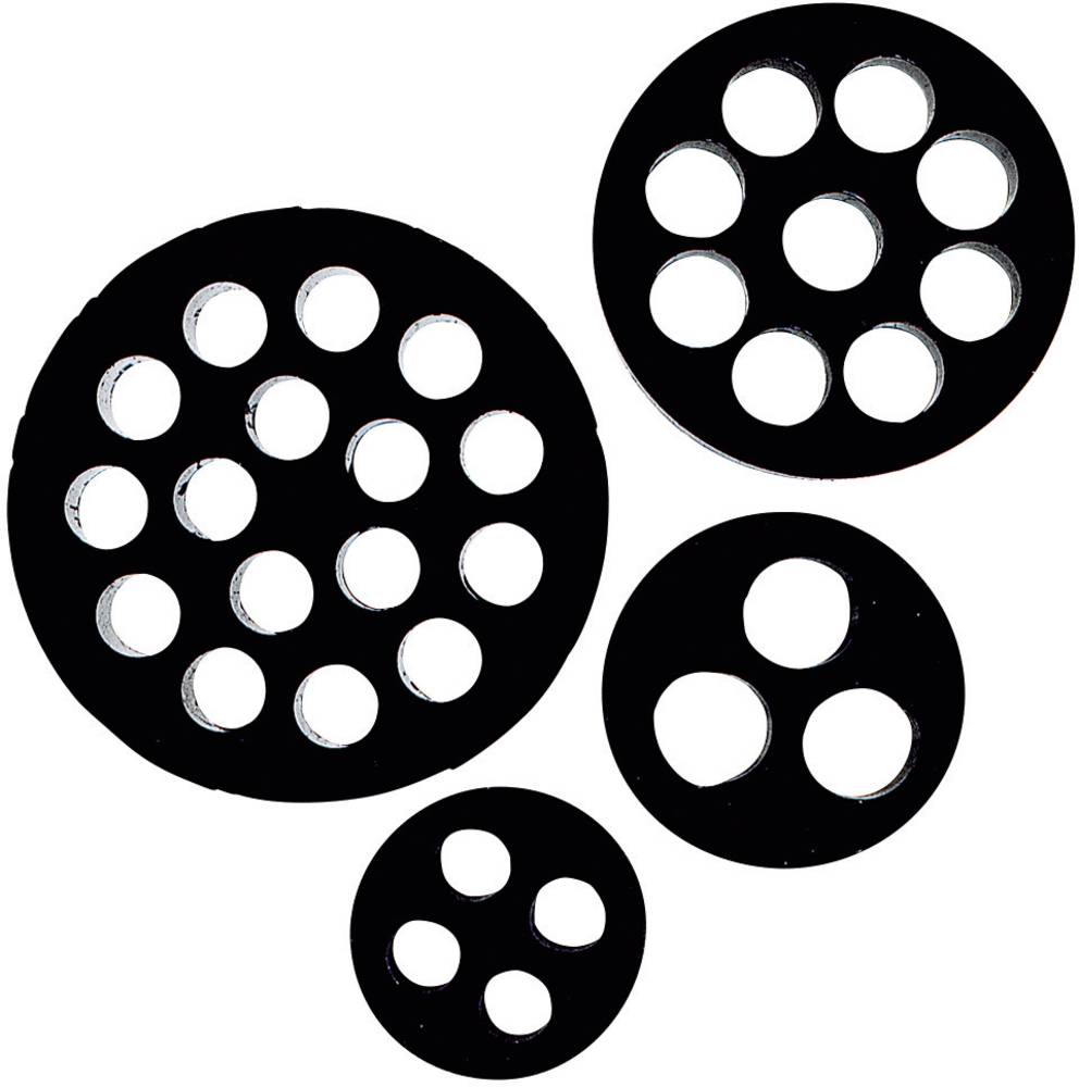 Multiforseglingsindsats LappKabel 53350870 Nitril-butadien-gummi M50 Sort (RAL 9005) 10 stk