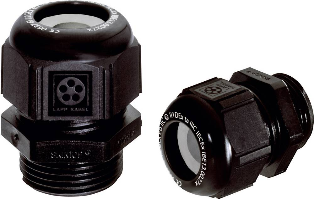 Kabelforskruning LappKabel SKINTOP® KR-M 12X1,5 ATEX PLUS BK M12 Polyamid Sort (RAL 9005) 50 stk