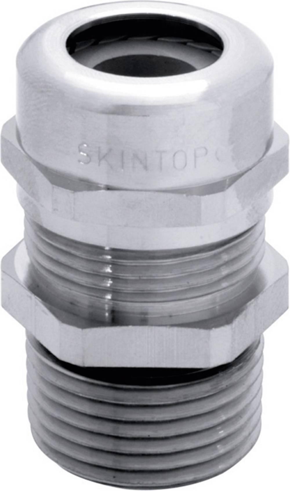 Kabelski navojni konektor SKINTOP MSR-NPT 1 1/4 LappKabel od mjeda, prirodna boja 10 komada