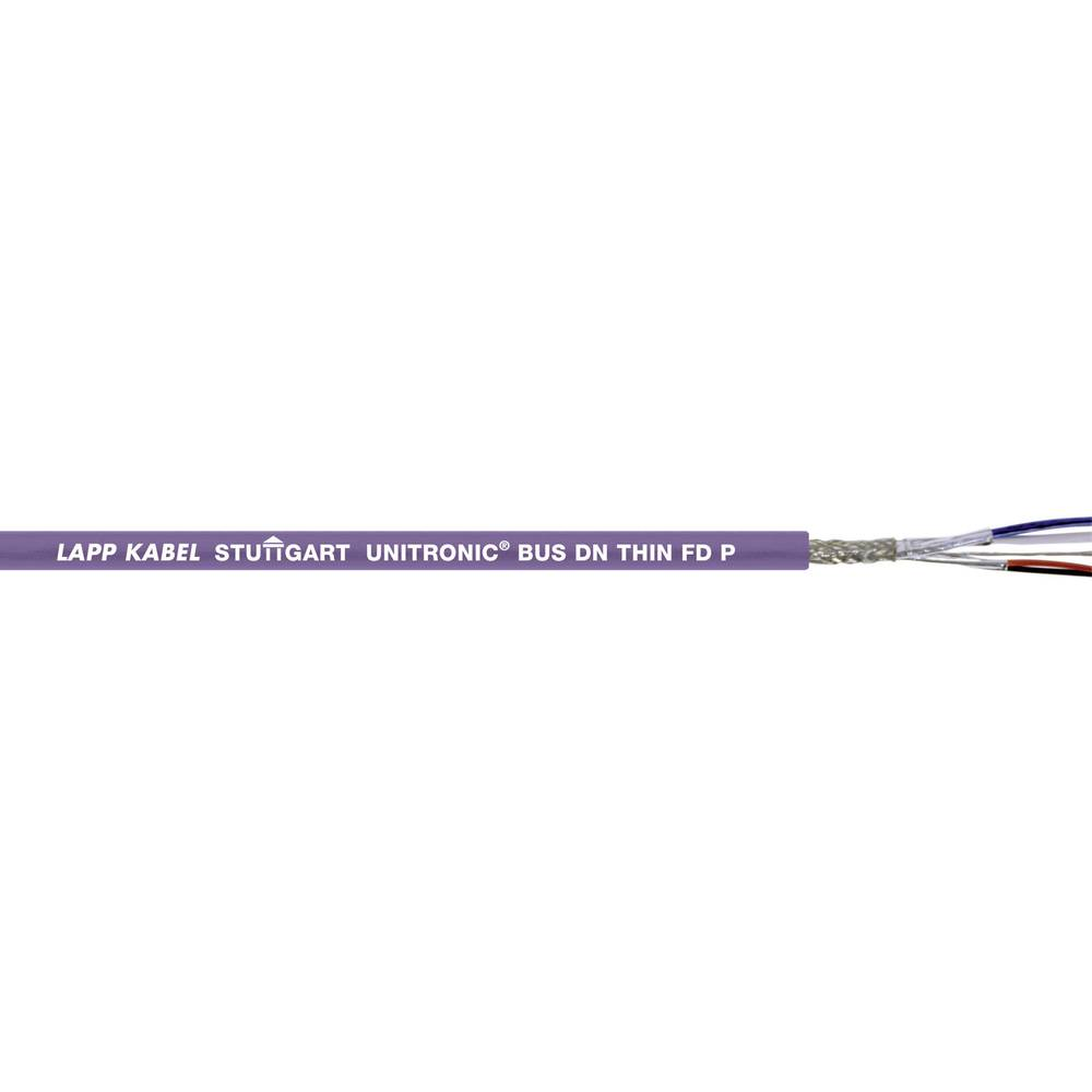 Bus vodnik UNITRONIC® BUS 1 x 2 x 0.25 mm + 2 x 0.5 mm vijolične barve LappKabel 2170347 305 m