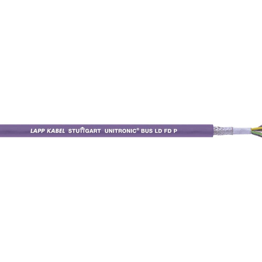 Busledning LappKabel UNITRONIC® BUS 2170813 1 x 2 x 0.25 mm² Violet 500 m