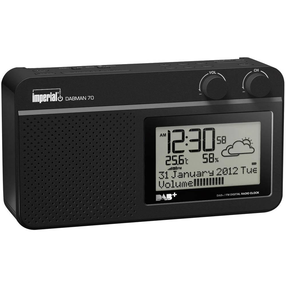 Imperial Dabman 70 Bathroom Radio Black