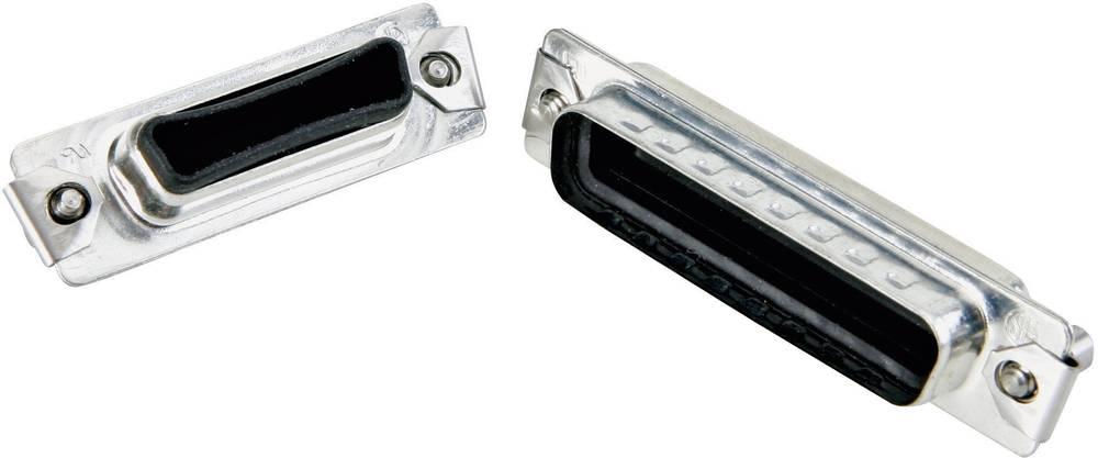 D-SUB zaščitni pokrov IP67 Conec 165X14789X srebrne barve 1 kos
