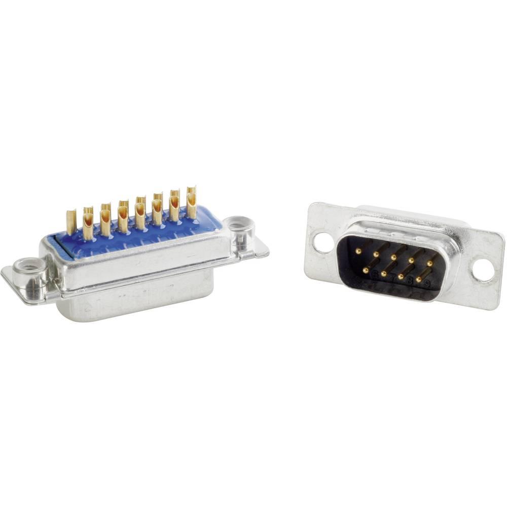 D-SUB filter 180 ° število polov: 15 s spajkalno posodo Conec 242A26870X 1 kos