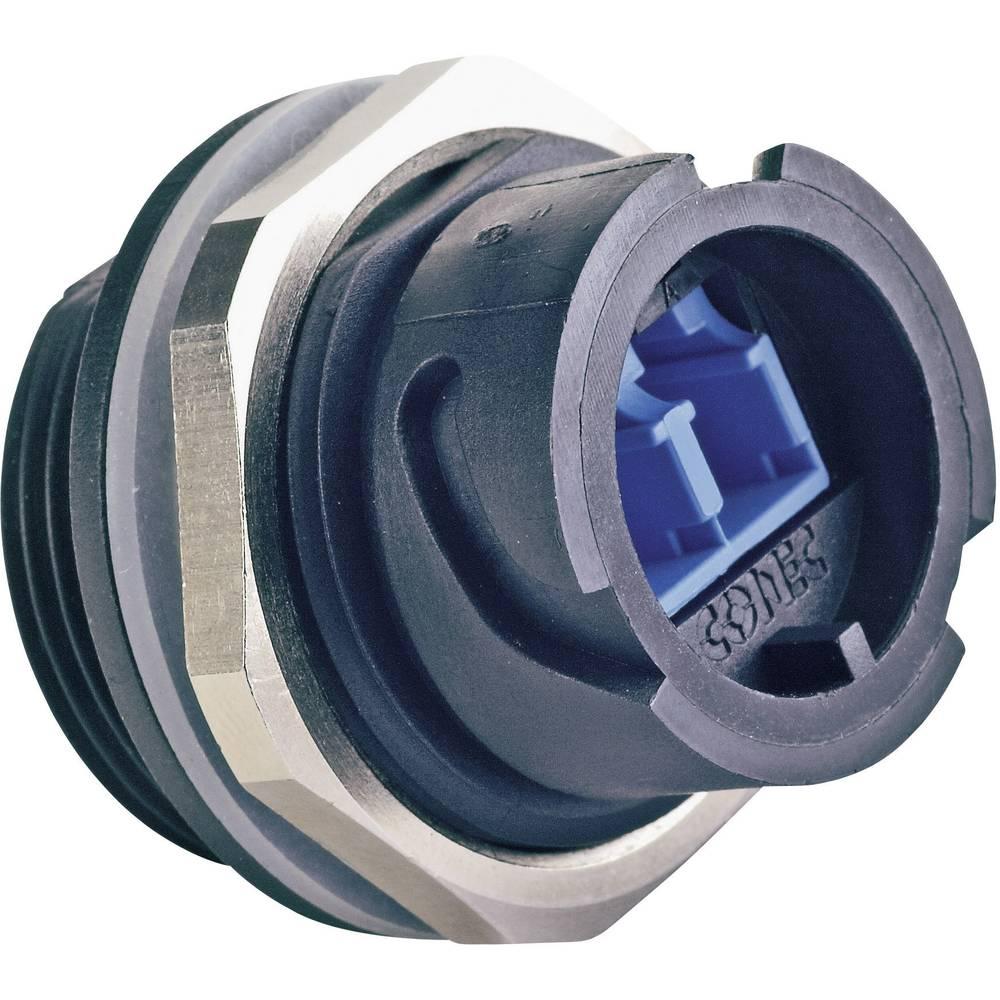 FIber Optic Industrial Duplex LC vgradni vtični konektor, IP67 Conec
