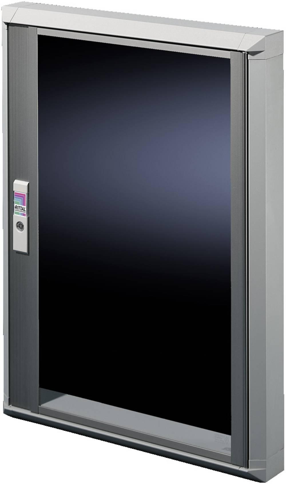 Vindue Rittal FT 2735.250 (B x H) 700 mm x 670 mm Glas Lysegrå (RAL 7035), Transparent 1 stk