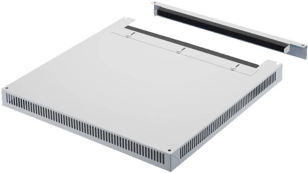 Tagplade Rittal DK 7826.689 Med kabelindføring (L x B) 800 mm x 600 mm Stålplade Lysegrå (RAL 7035) 1 stk