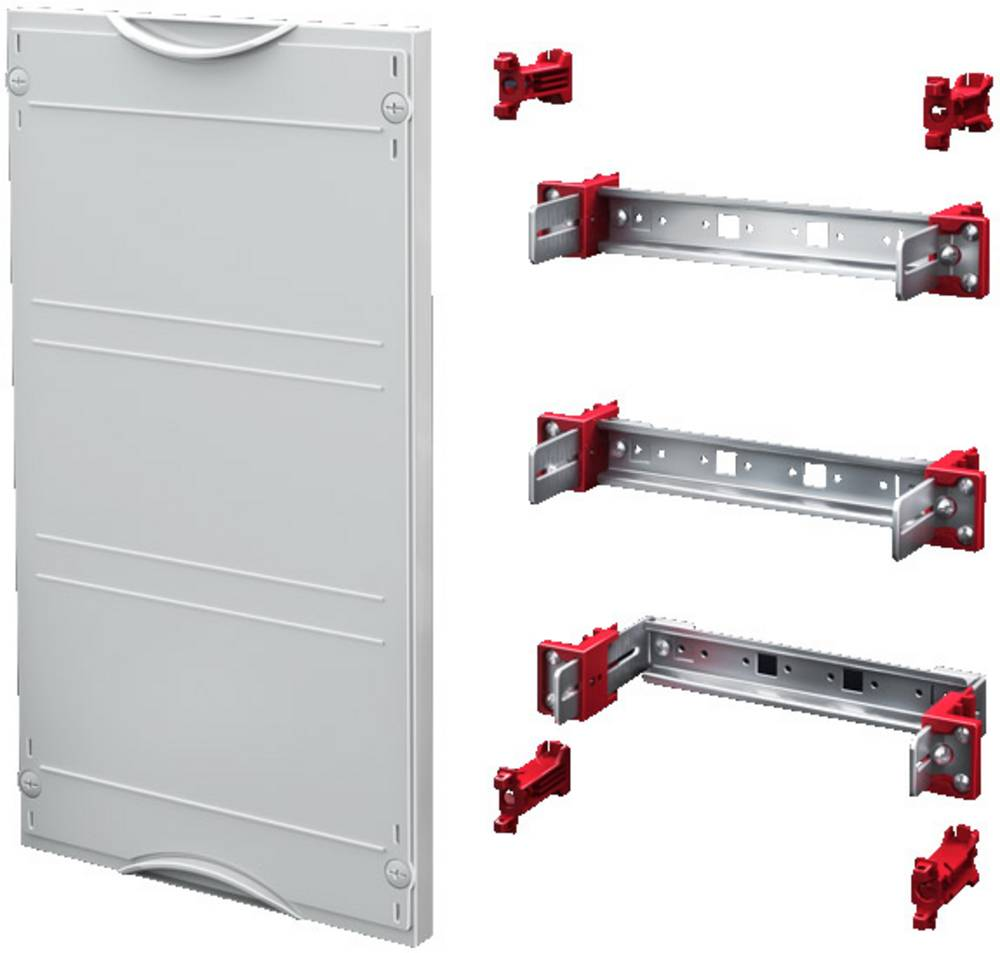 Enhedsskinner-modul Rittal SV 9666.180 9666.180 Stålplade Grå (RAL 7035) (B x H) 250 mm x 450 mm 1 stk