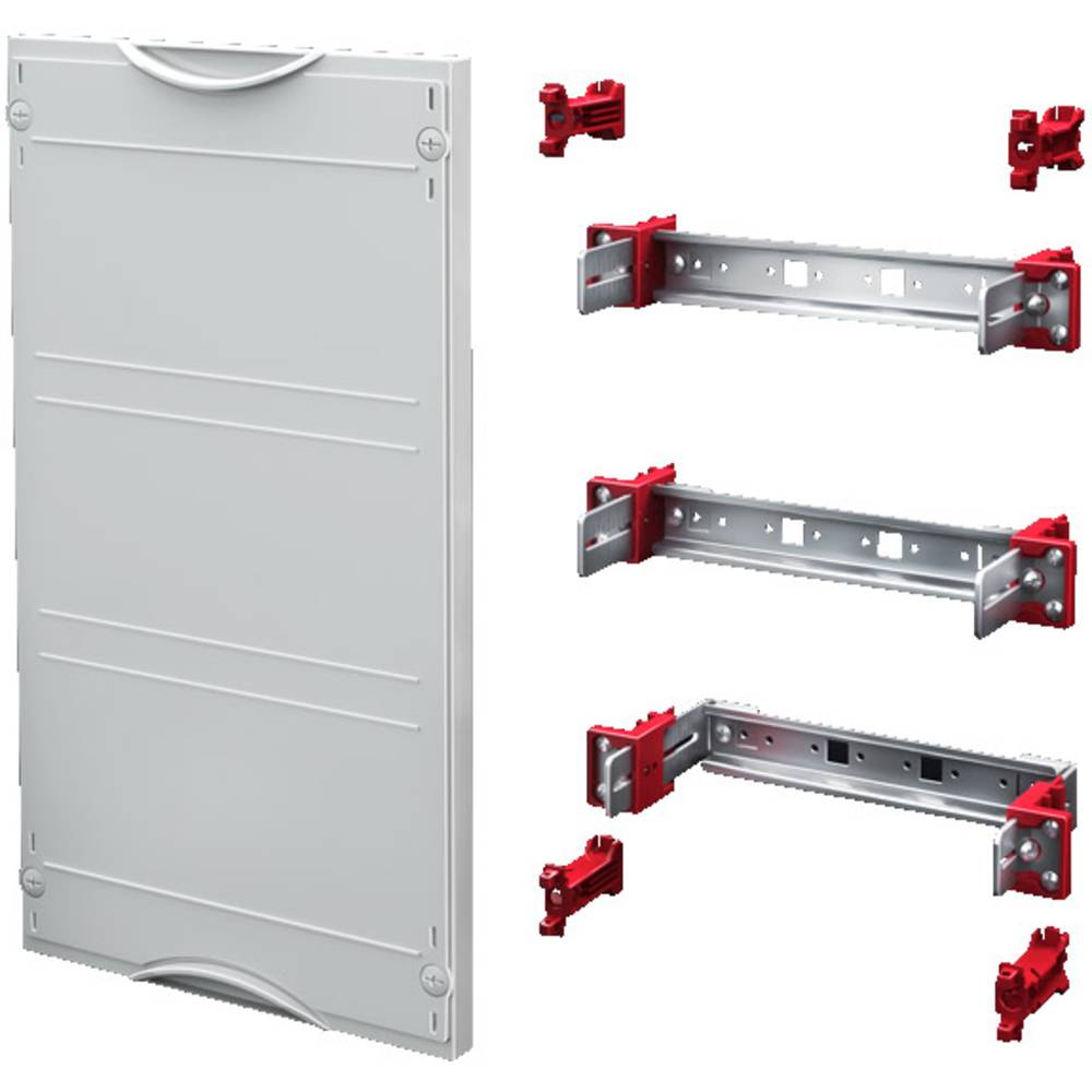Enhedsskinner-modul Rittal SV 9666.200 9666.200 Stålplade Grå (RAL 7035) (B x H) 500 mm x 150 mm 1 stk
