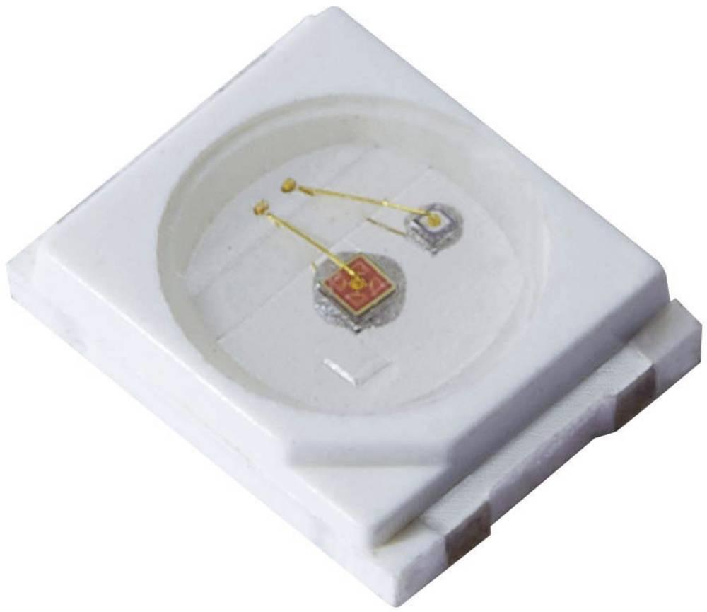 SMD-LED PLCC2 rdeča 120 ° 150 mA 2.9 V Kingbright KA-3529ASELZ4S