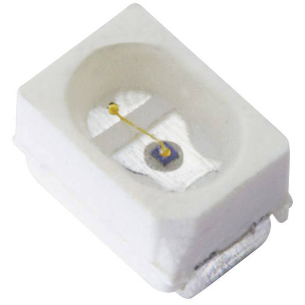 SMD-LED PLCC2 oranžna 180 mcd 120 ° 20 mA 2.1 V Kingbright KA-2214SESK