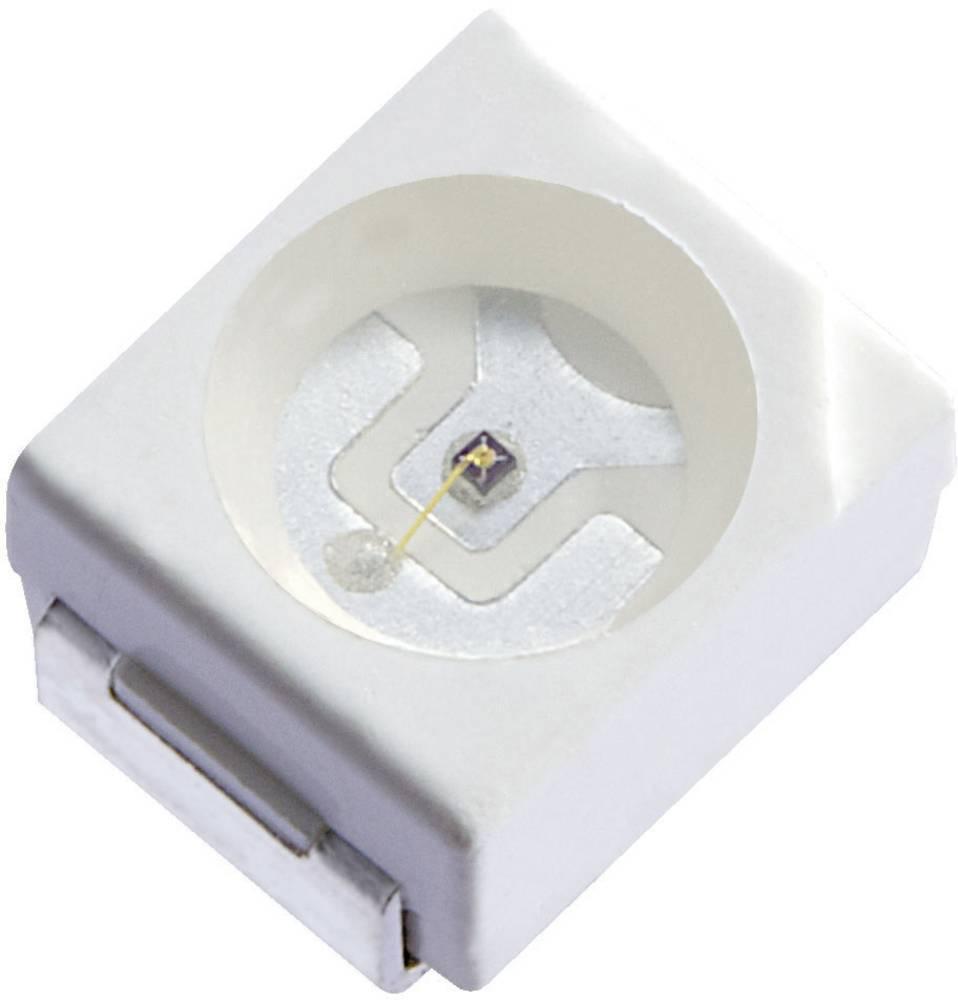 SMD-LED PLCC2 zelena 600 mcd 120 ° 20 mA 3.3 V Kingbright KA-3528ZGCT
