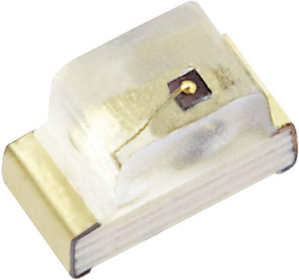 SMD-LED 0603 rdeča 80 mcd 120 ° 20 mA 1.95 V Kingbright KP-1608SURCK