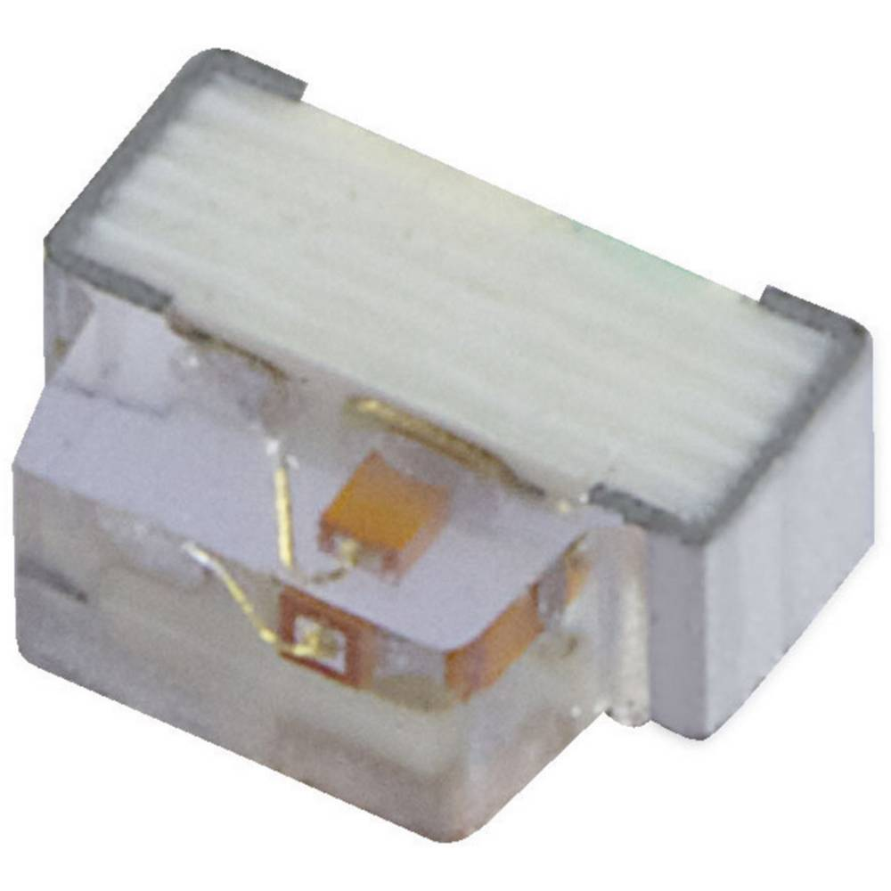 SMD-LED 0602 rdeča 80 mcd 110 ° 20 mA 1.95 V Kingbright KPA-1606SURCK