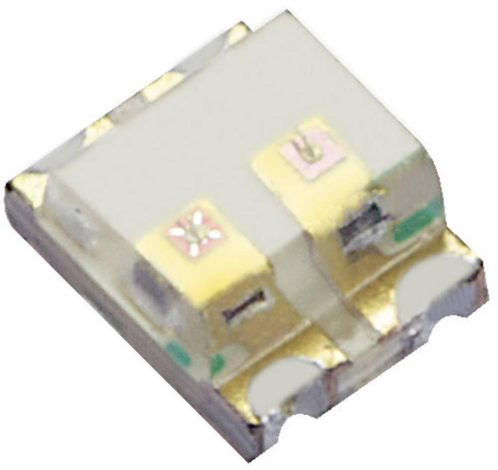 SMD-LED večbarvna 0605 rdeča, zelena 80 mcd, 50 mcd 120 ° 20 mA 1.95 V, 2.1 V Kingbright KPTB-1612SURKCGKC