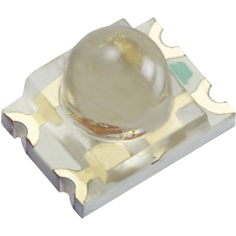 SMD-LED večbarvna, posebna oblika, modra, oranžna 300 mcd, 400 mcd 20 ° 20 mA 3.3 V, 2.1 V Kingbright KPBD-3224QBDSEKC