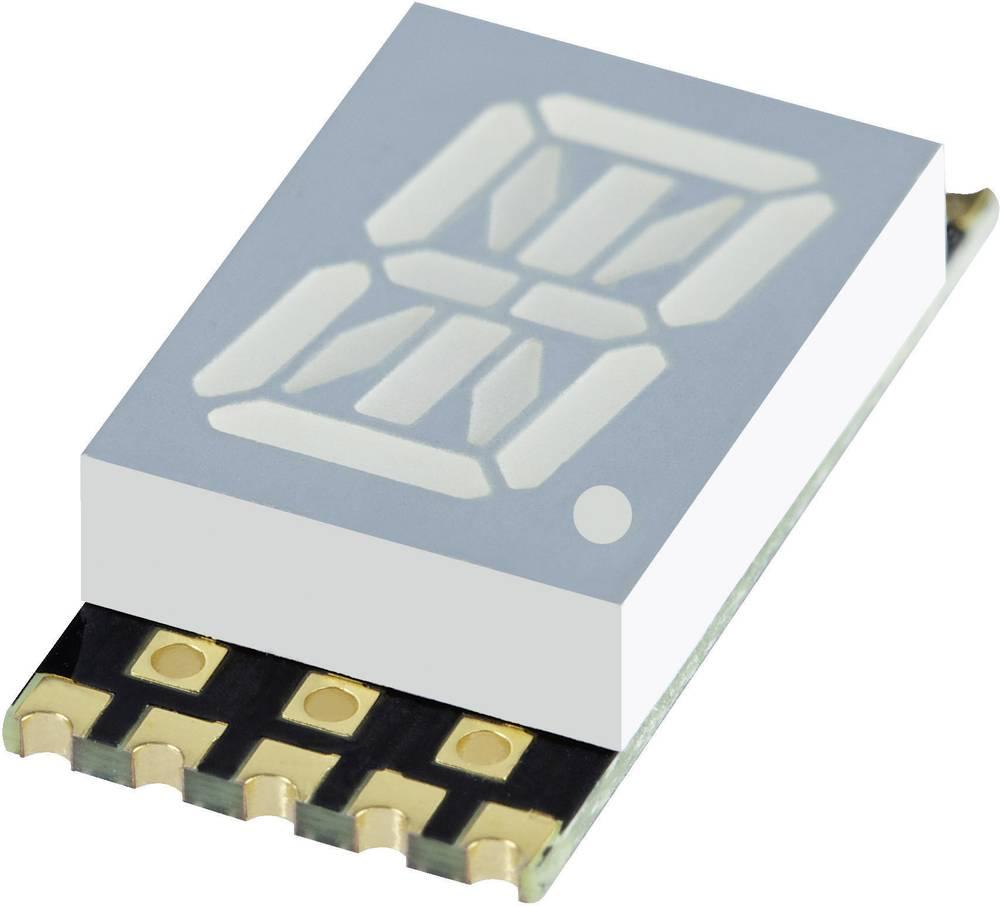 Alfanumeriske segment-display Kingbright 10.16 mm 1.95 V Gul