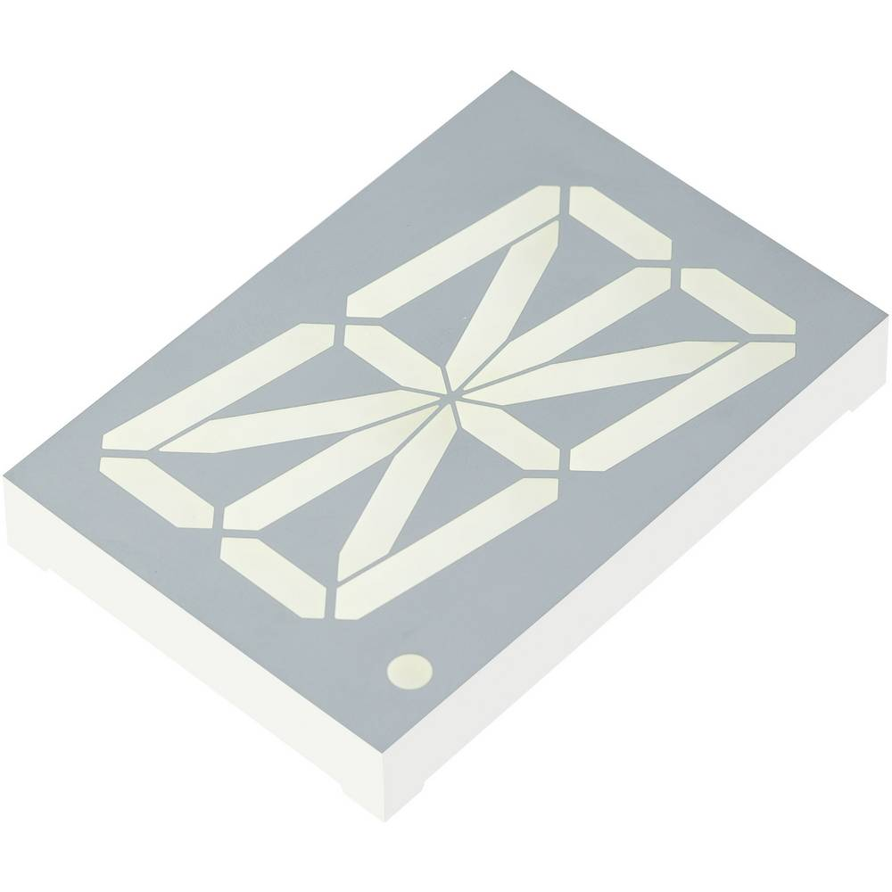 Alfanumeriske segment-display Kingbright 56.8 mm 3.9 V Gul
