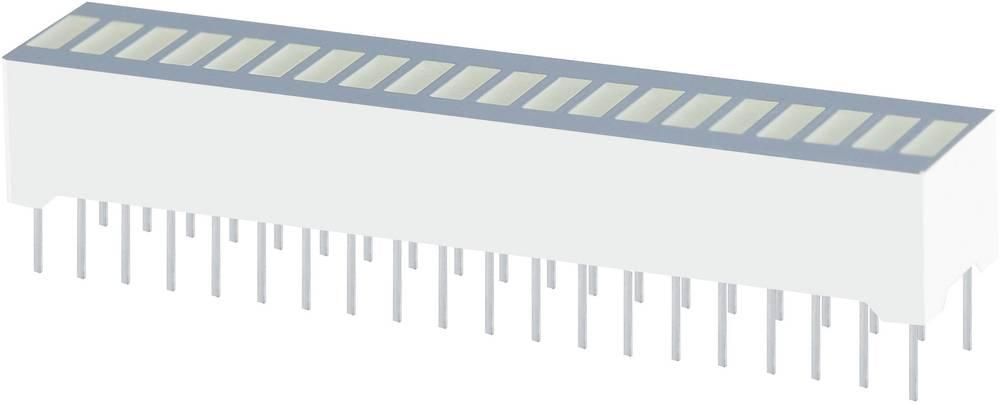 LED grafični prikazovalnik, rumena (Š x V x G) 50.7 x 10.16 x 8 mm Kingbright DC-20/20SYKWA