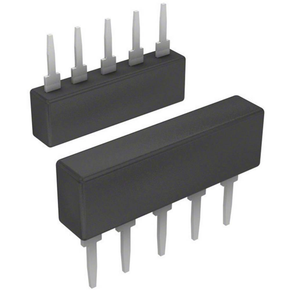 Otporna mreža 100 k radijalno ožičena SIP-5 0.2 W Bourns 4605X-101-104LF 1 kom.