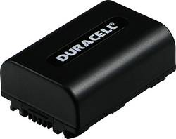 Image of Camera battery Duracell replaces original battery NP-FH30 7.4 V