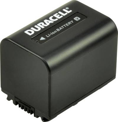 Image of Camera battery Duracell replaces original battery NP-FV30 7.4 V