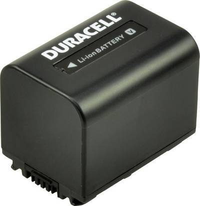 Image of Camera battery Duracell replaces original battery NP-FV70 7.4 V