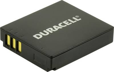 Image of Camera battery Duracell replaces original battery CGA-S005, DB-60, NP-70, CGA-S005E, IA-